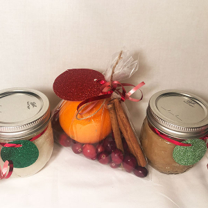 Upcycled Baby Food Jars with Painted Animal Lids